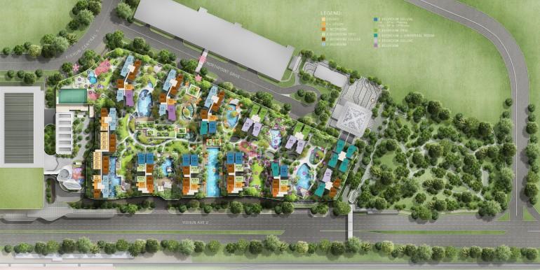 North Park Residences Site Plan